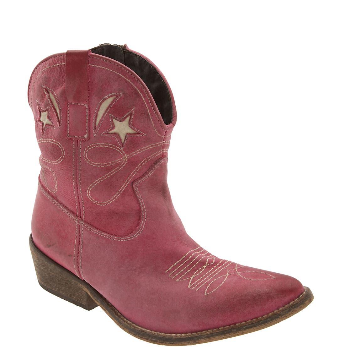 'Girl' Boot,                         Main,                         color, Fuchsia