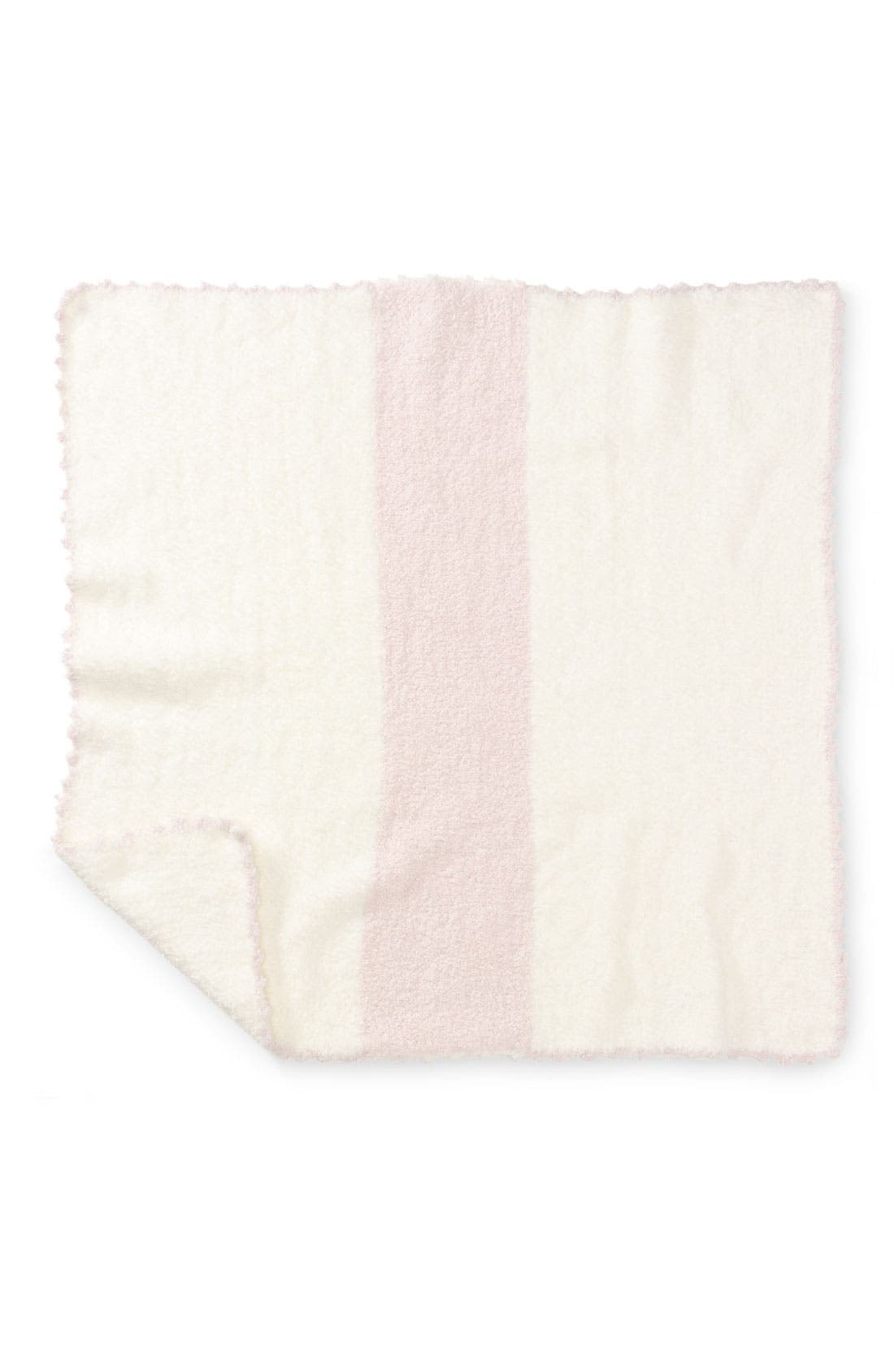 Alternate Image 2  - Barefoot Dreams® CozyChic® Stripe Blanket