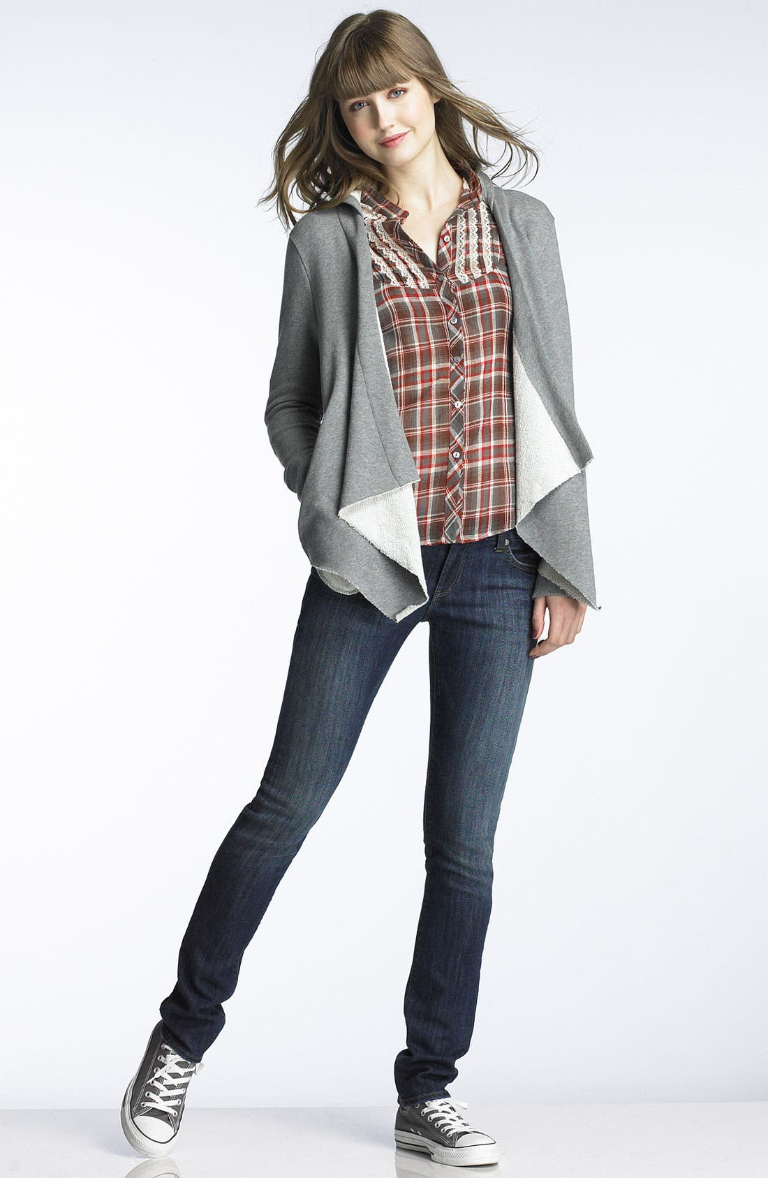 Alternate Image 5  - !iT JEANS 'Rising Starlet' Skinny Stretch Jeans (Juniors)