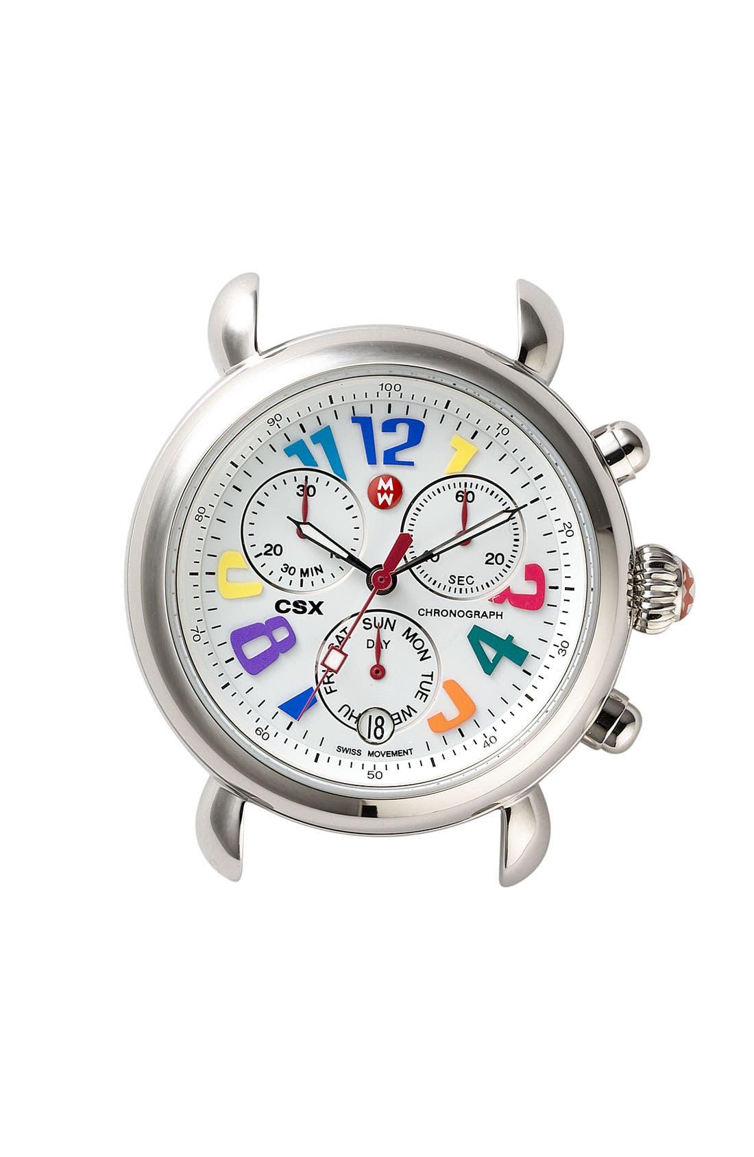 Main Image - MICHELE 'CSX Carousel' Watch Case, 36