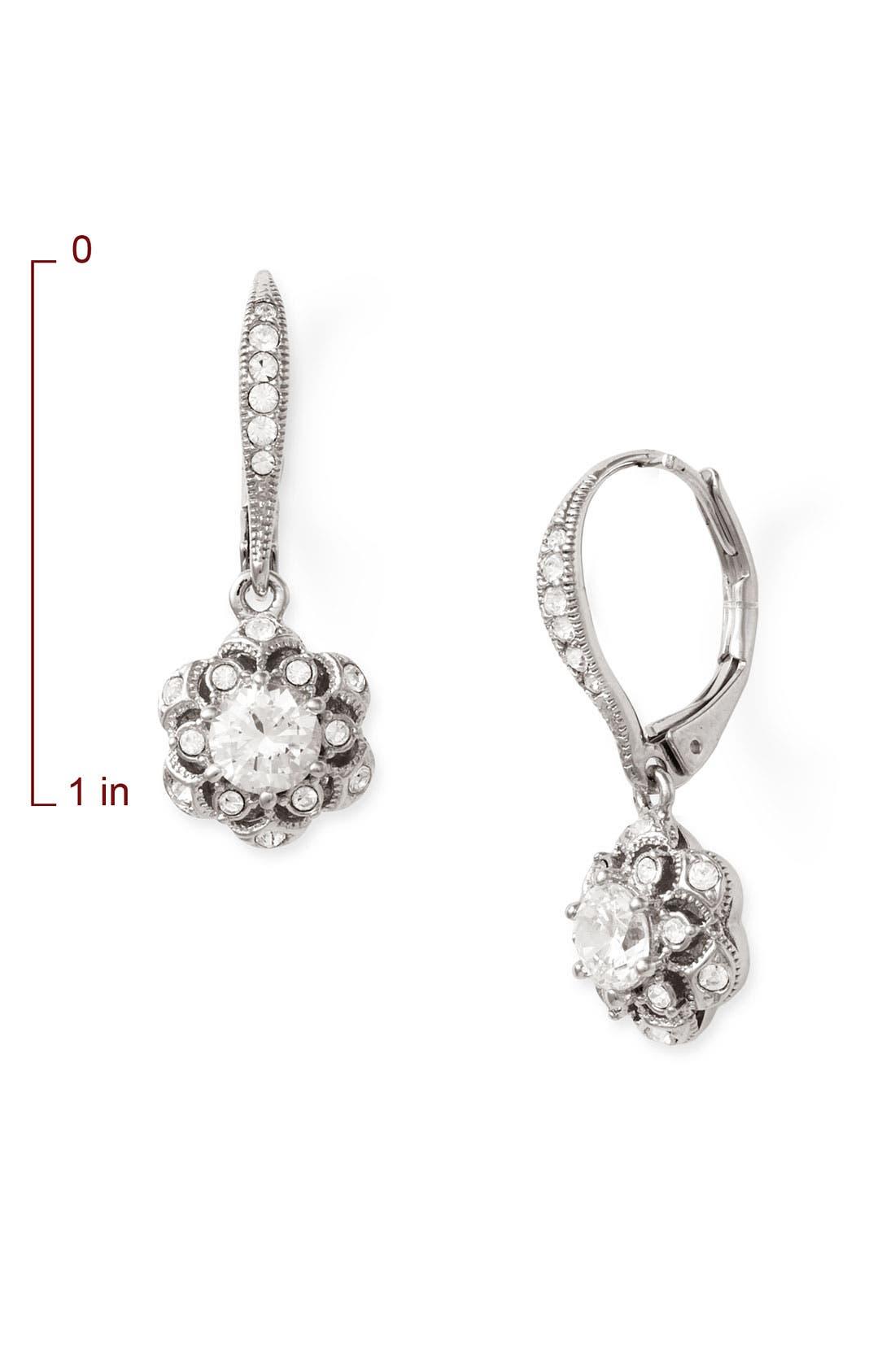 Alternate Image 2  - Nadri 'Vintage Star' Drop Earrings