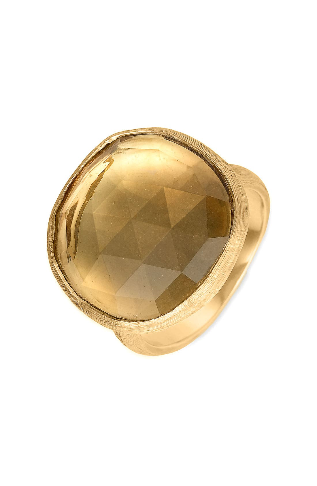 Alternate Image 1 Selected - Marco Bicego 'Jaipur' Large Citrine Ring