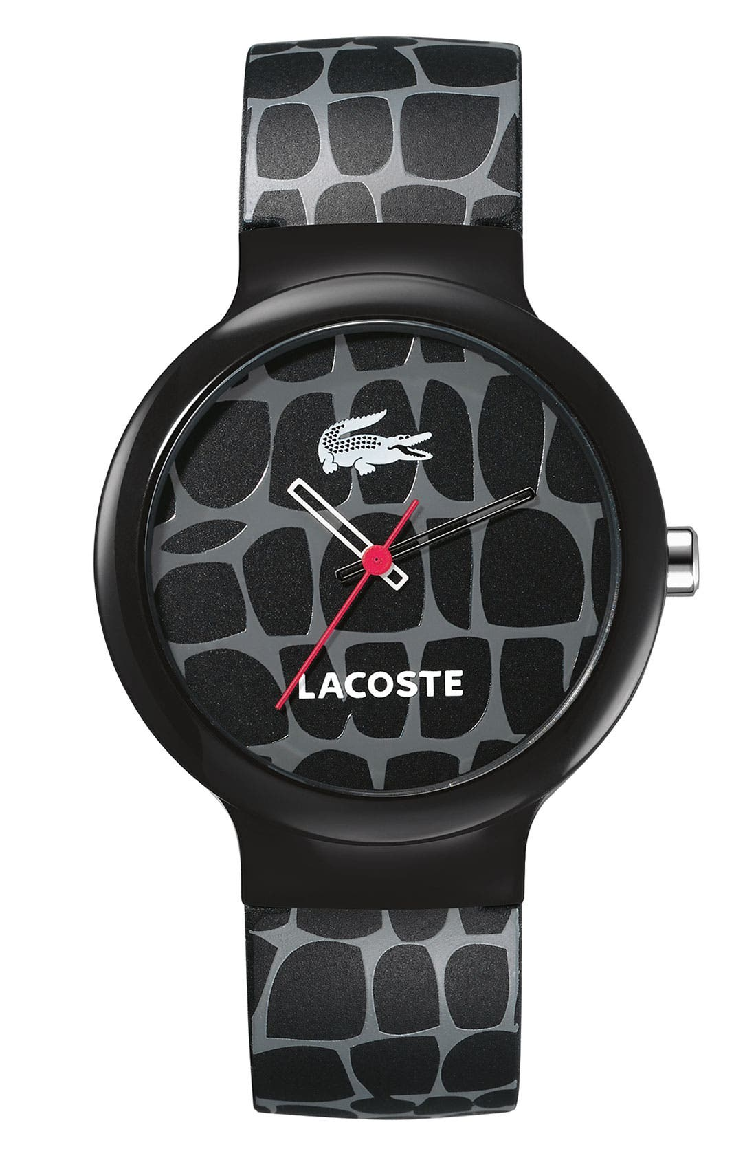 Alternate Image 1 Selected - Lacoste 'Goa' Croc Graphic Watch