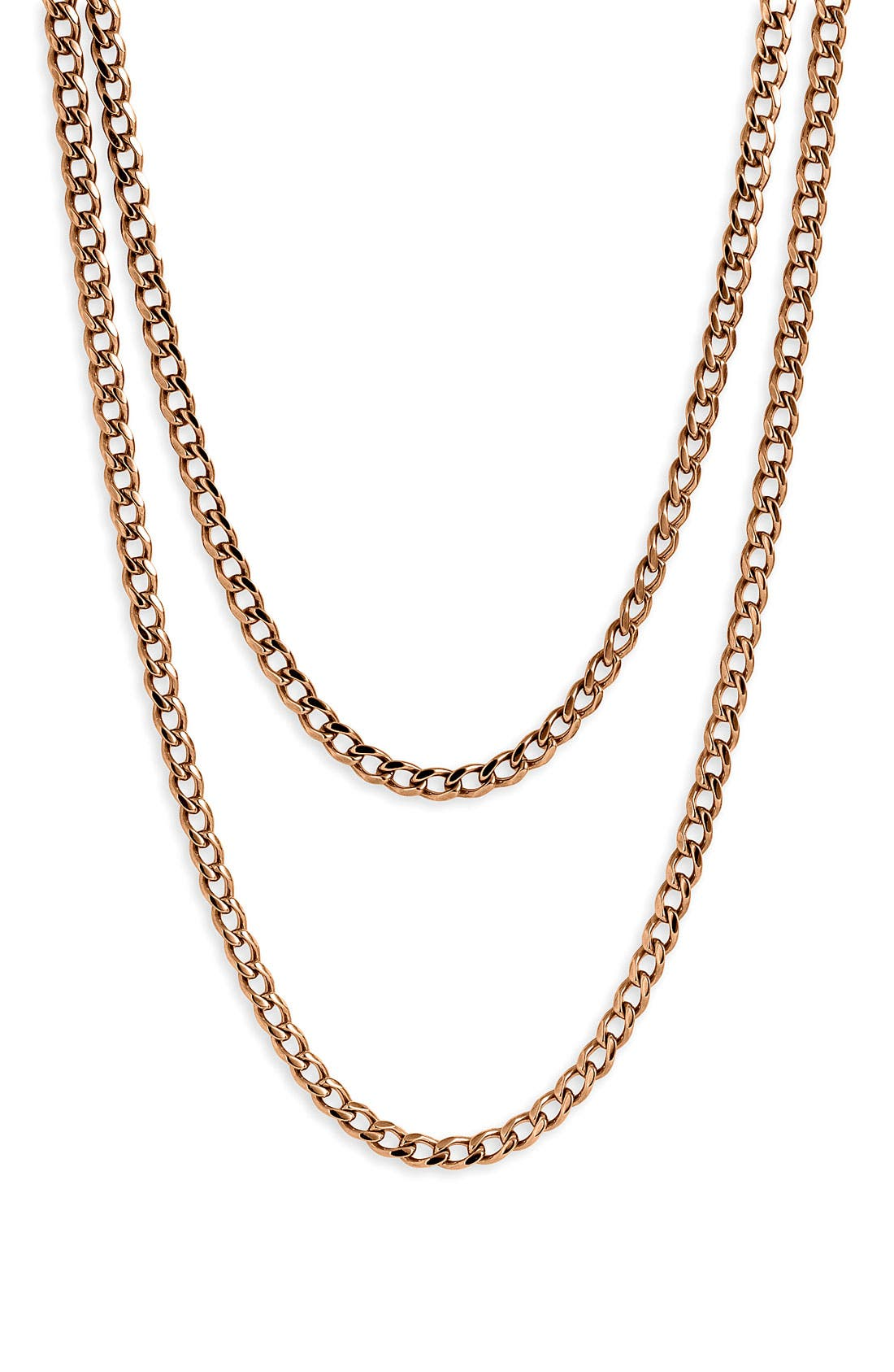 Main Image - Nordstrom Long Strand Chain Necklace