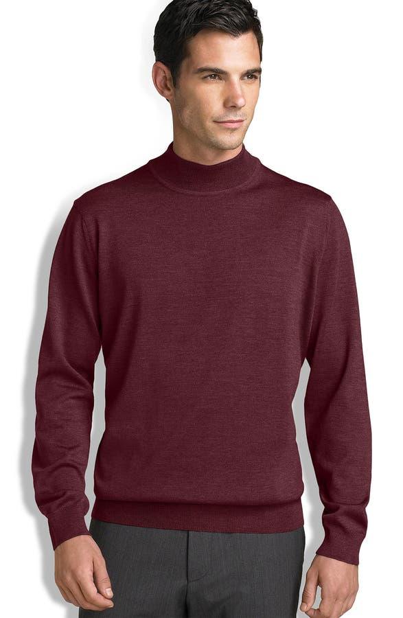 Nordstrom Merino Wool Mock Turtleneck Sweater | Nordstrom