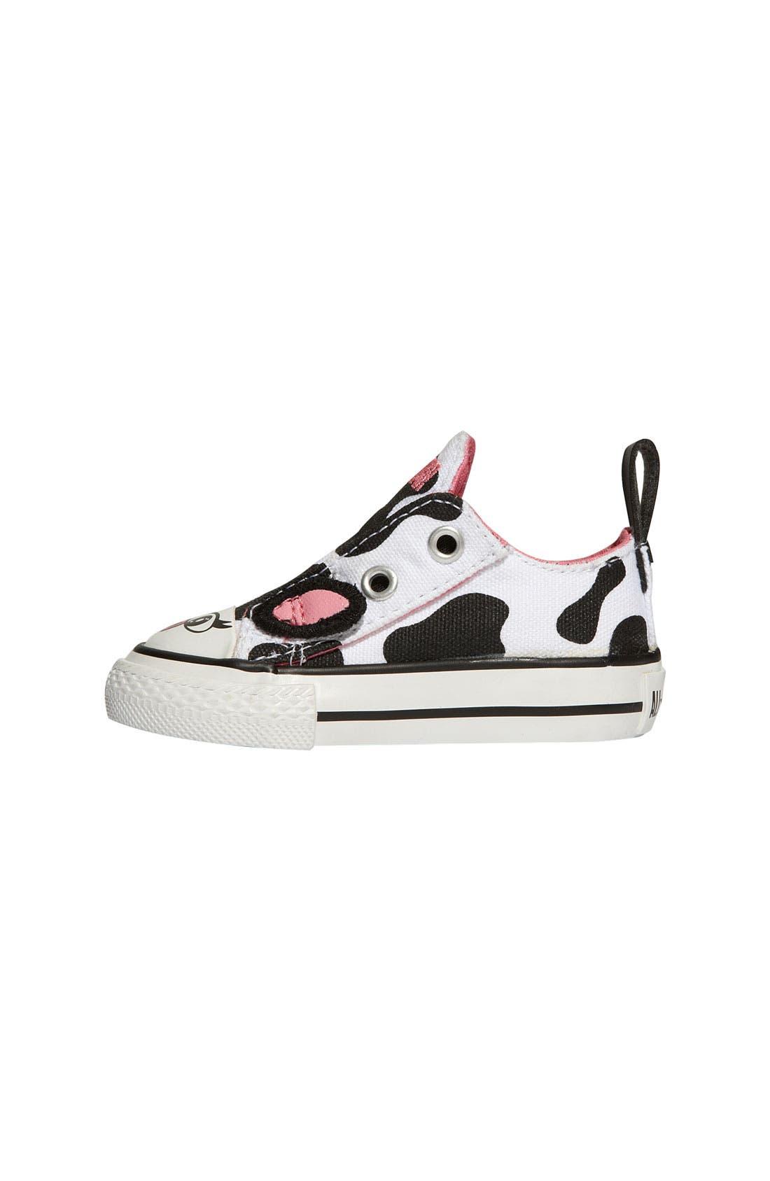 Alternate Image 2  - Converse Chuck Taylor® Animal Print Sneaker (Baby, Walker & Toddler)