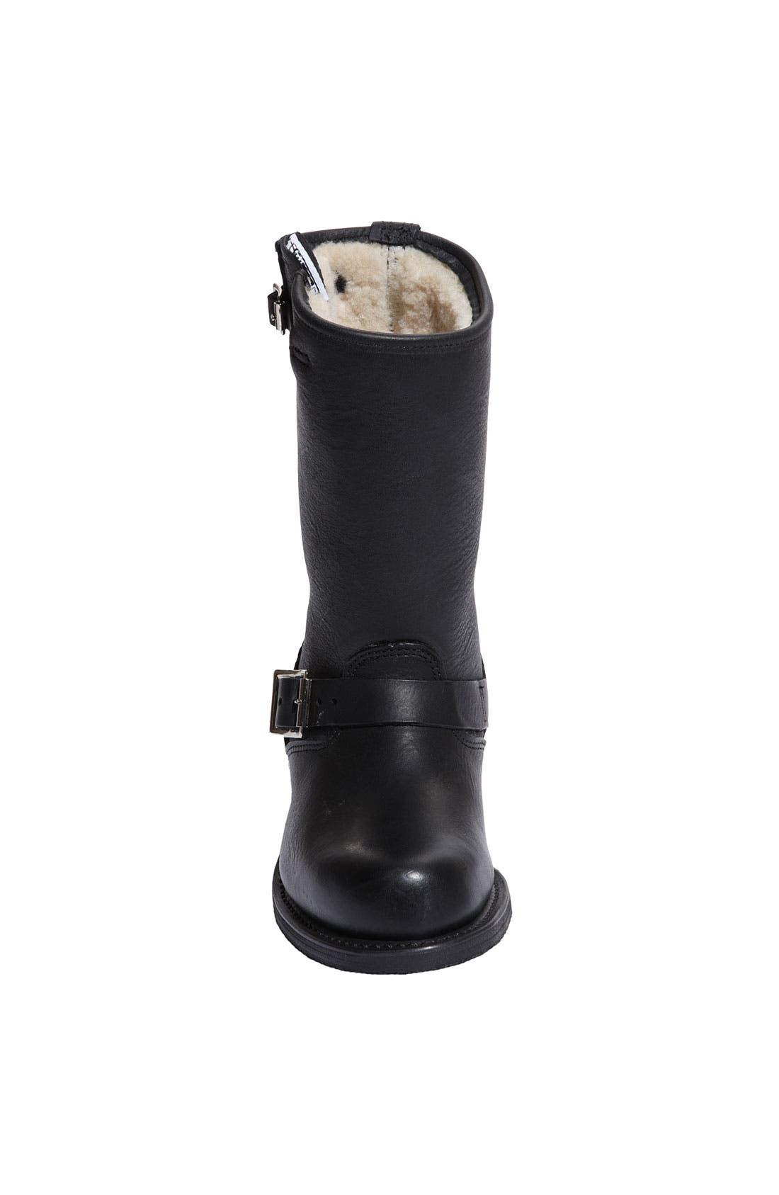 Alternate Image 3  - Frye 'Engineer 12R' Shearling Boot