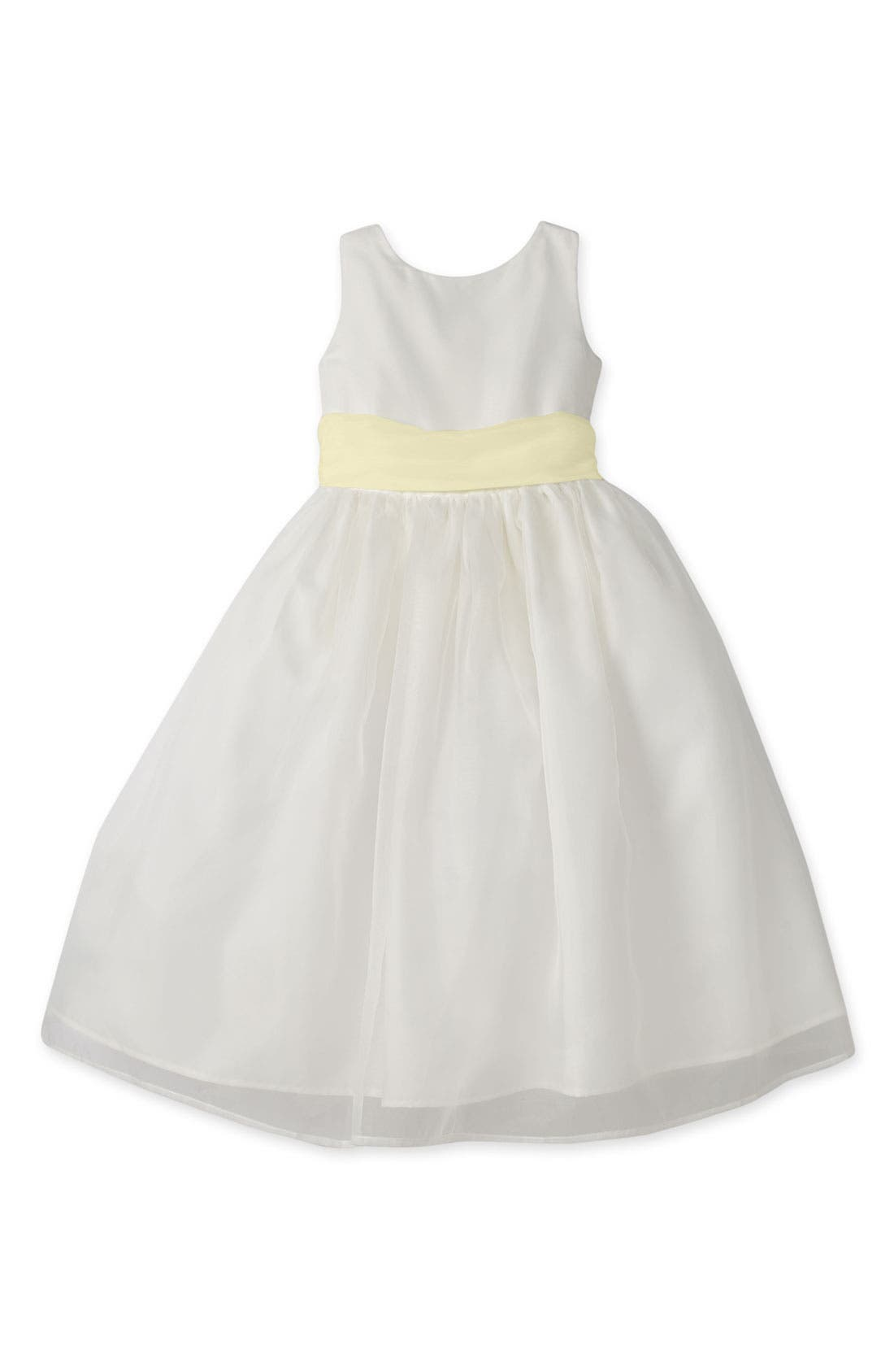 Us Angels Sleeveless Organza Dress (Toddler Girls, Little Girls & Big Girls)