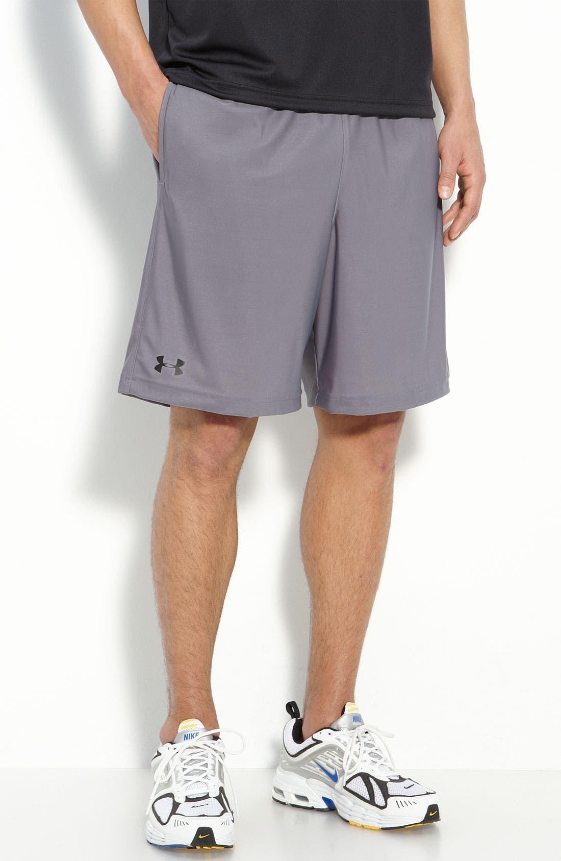 'Micro' HeatGear<sup>®</sup> Knit Shorts,                         Main,                         color, Grey