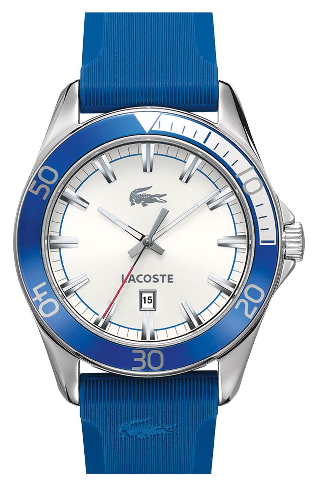 Alternate Image 1 Selected - Lacoste 'Sport Navigator' Aluminum Watch