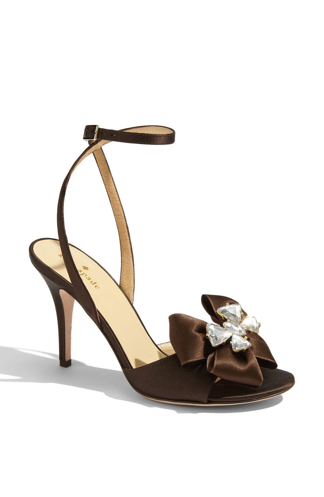 Main Image - kate spade new york 'shelby' satin sandal