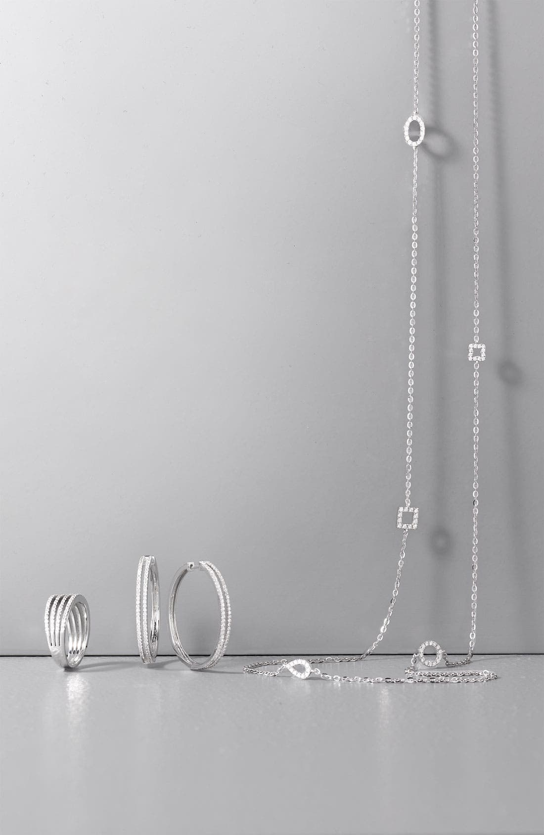 Alternate Image 2  - Bony Levy Diamond Station Long Necklace (Nordstrom Exclusive)