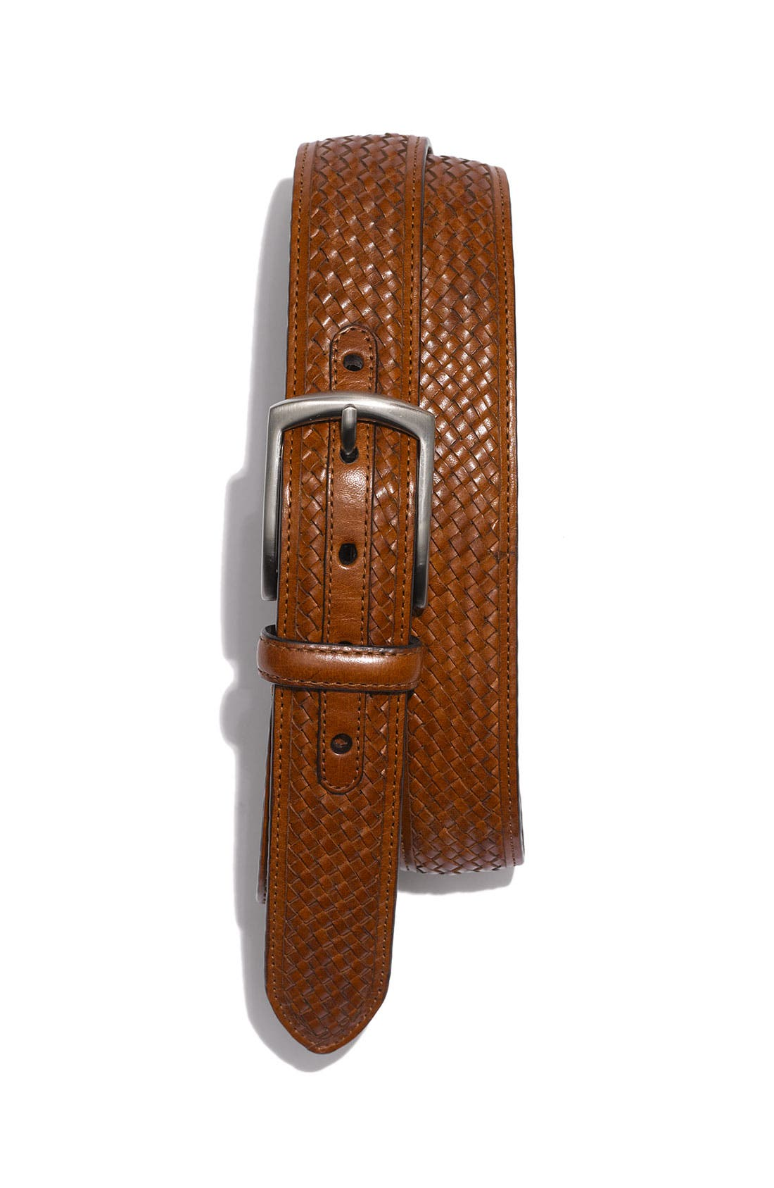 Alternate Image 1 Selected - Cole Haan 'Kerry' Woven Leather Belt