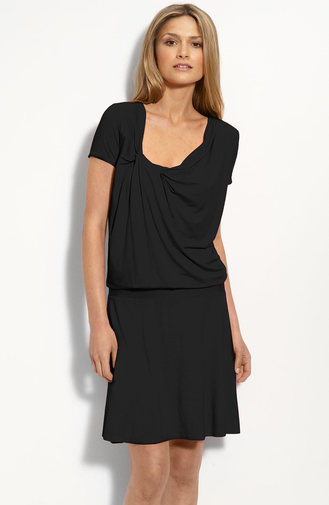 Alternate Image 1 Selected - Three Dots Drape Front Dress