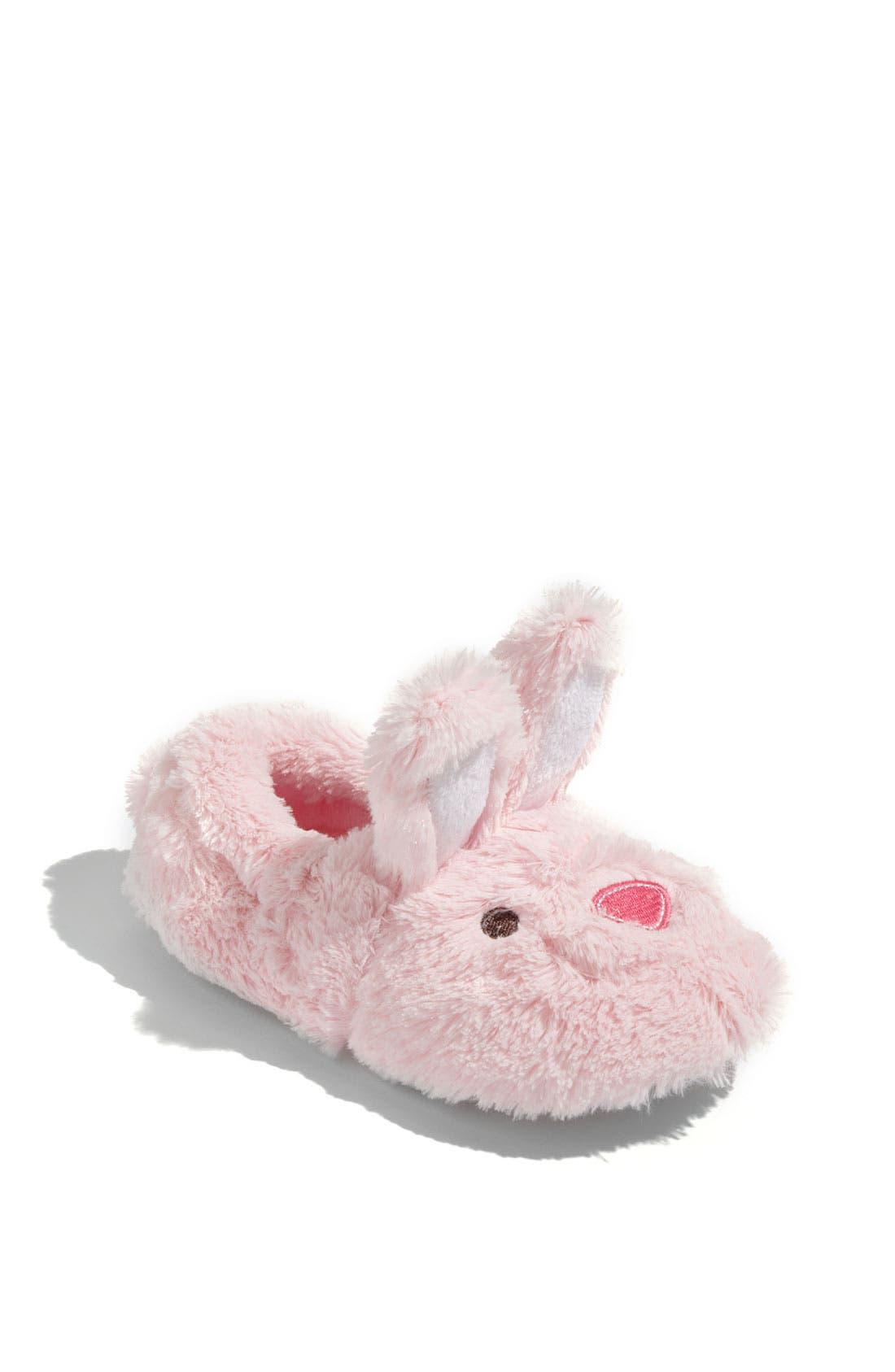 Alternate Image 1 Selected - Stride Rite 'Fuzzy Animal' Slipper (Walker, Toddler, & Little Kid)