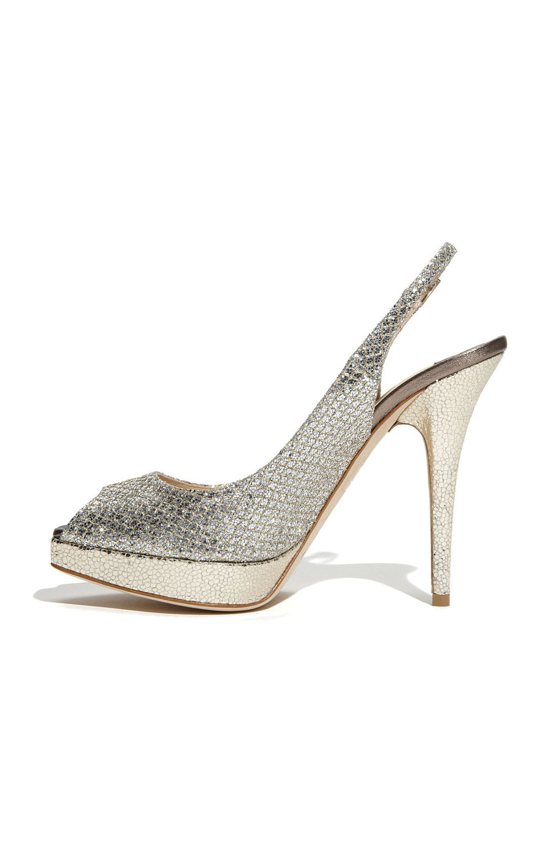 Alternate Image 2  - Jimmy Choo 'Clue' Glitter Slingback Pump (Nordstrom Exclusive Color)