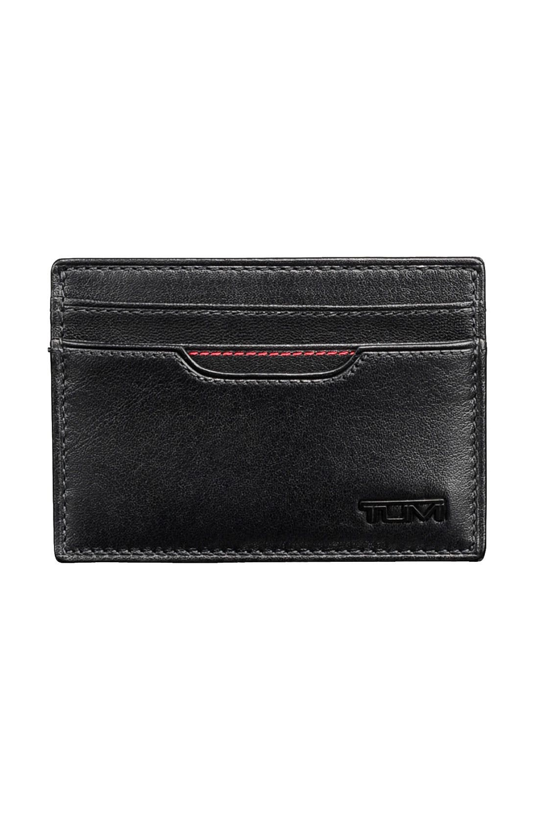 Main Image - Tumi 'Delta' Money Clip Card Case
