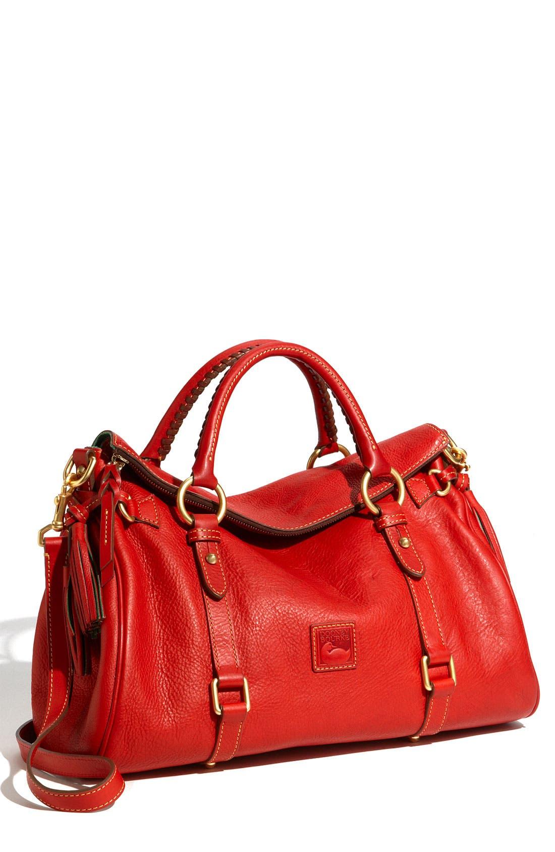 Main Image - Dooney & Bourke 'Florentine Collection' Vachetta Leather Satchel