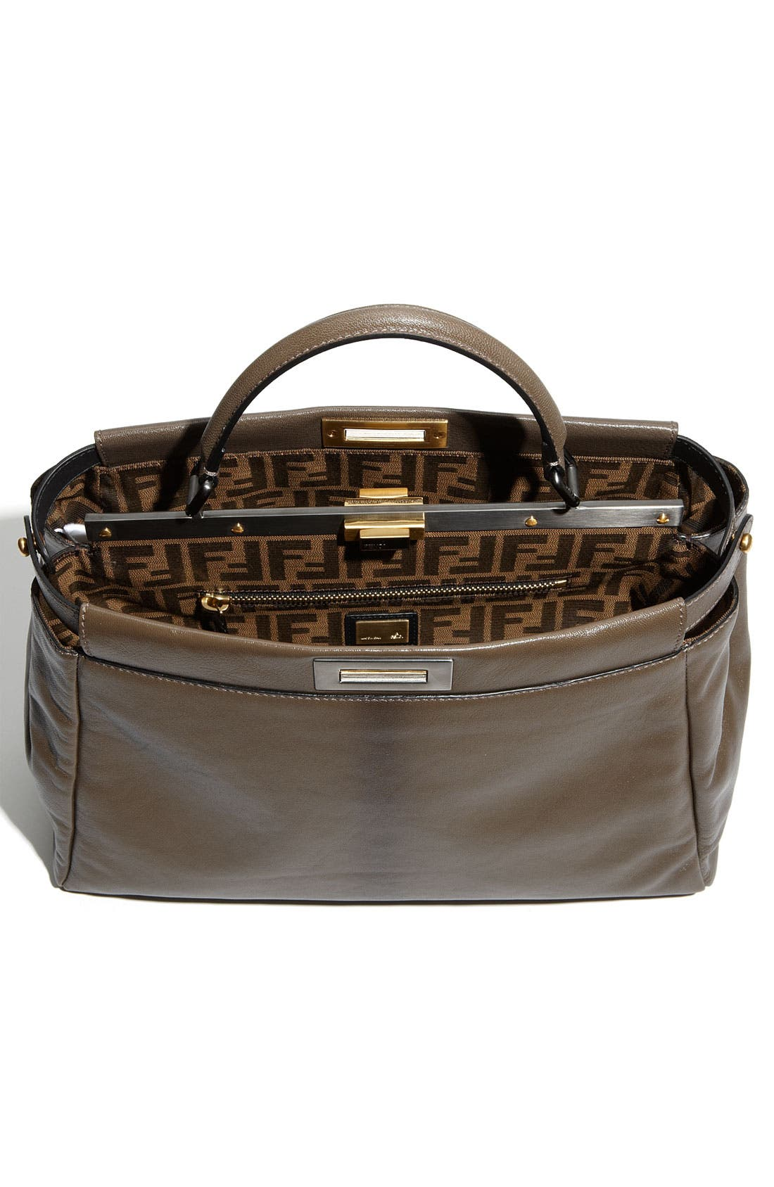 Alternate Image 3  - Fendi 'Peekaboo - Large' Leather Satchel