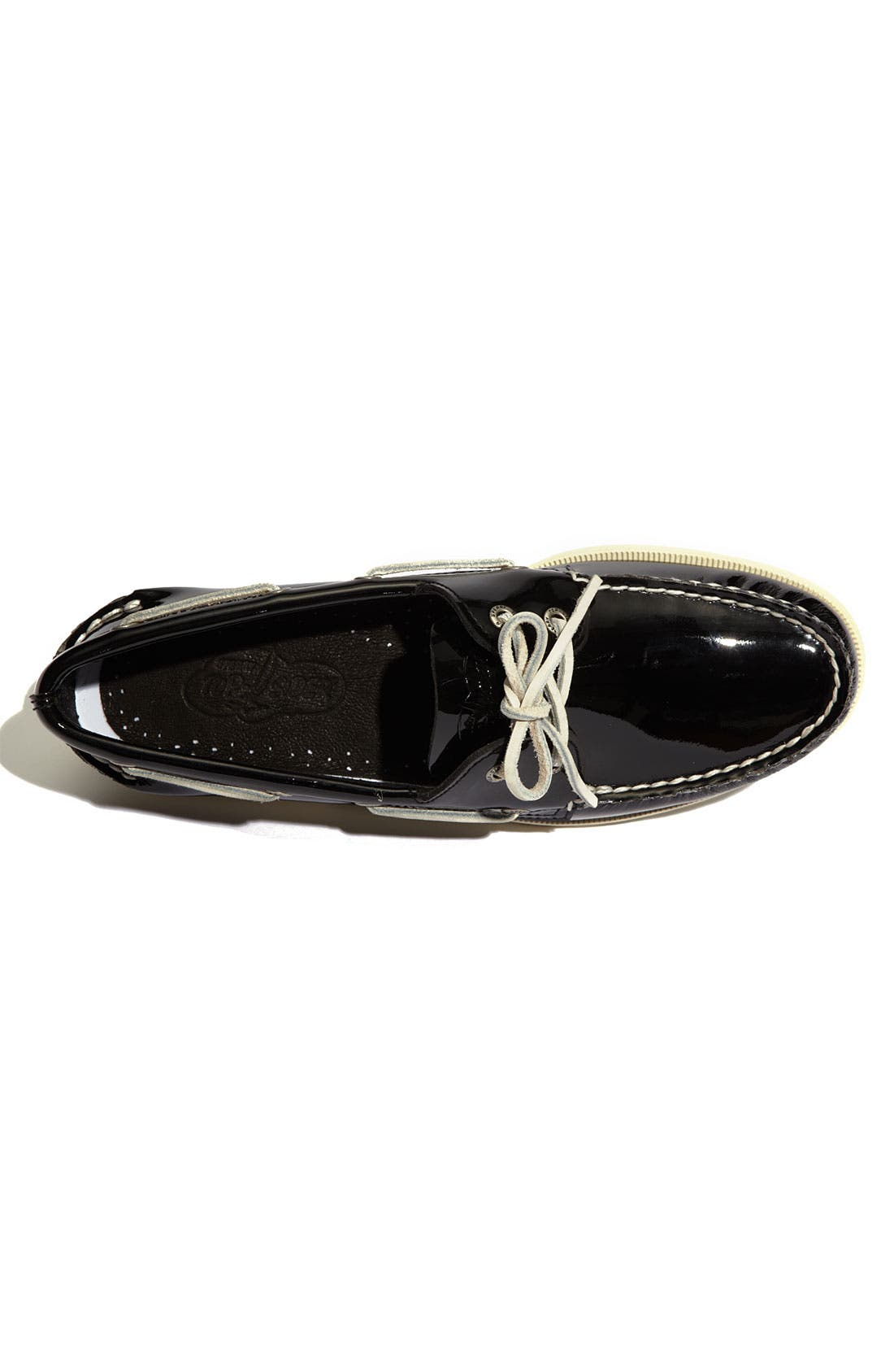 Alternate Image 3  - Sperry Top-Sider® 'Authentic Original' Patent Leather Boat Shoe