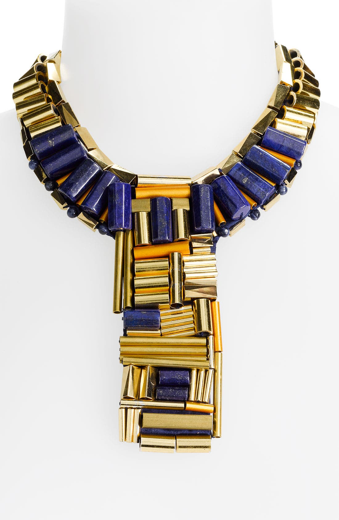 Main Image - Tory Burch Embellished Collar Statement Necklace
