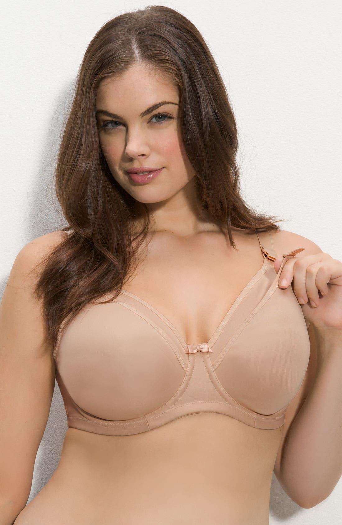 Elomi Underwire Nursing Bra (Plus Size)