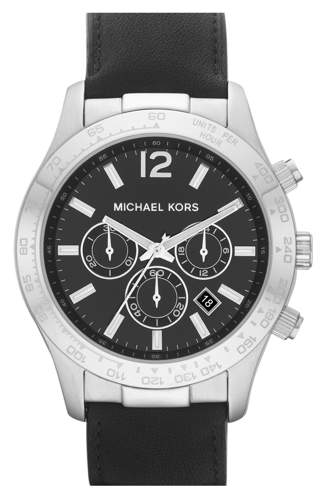 Main Image - Michael Kors 'Large Layton' Chronograph Watch