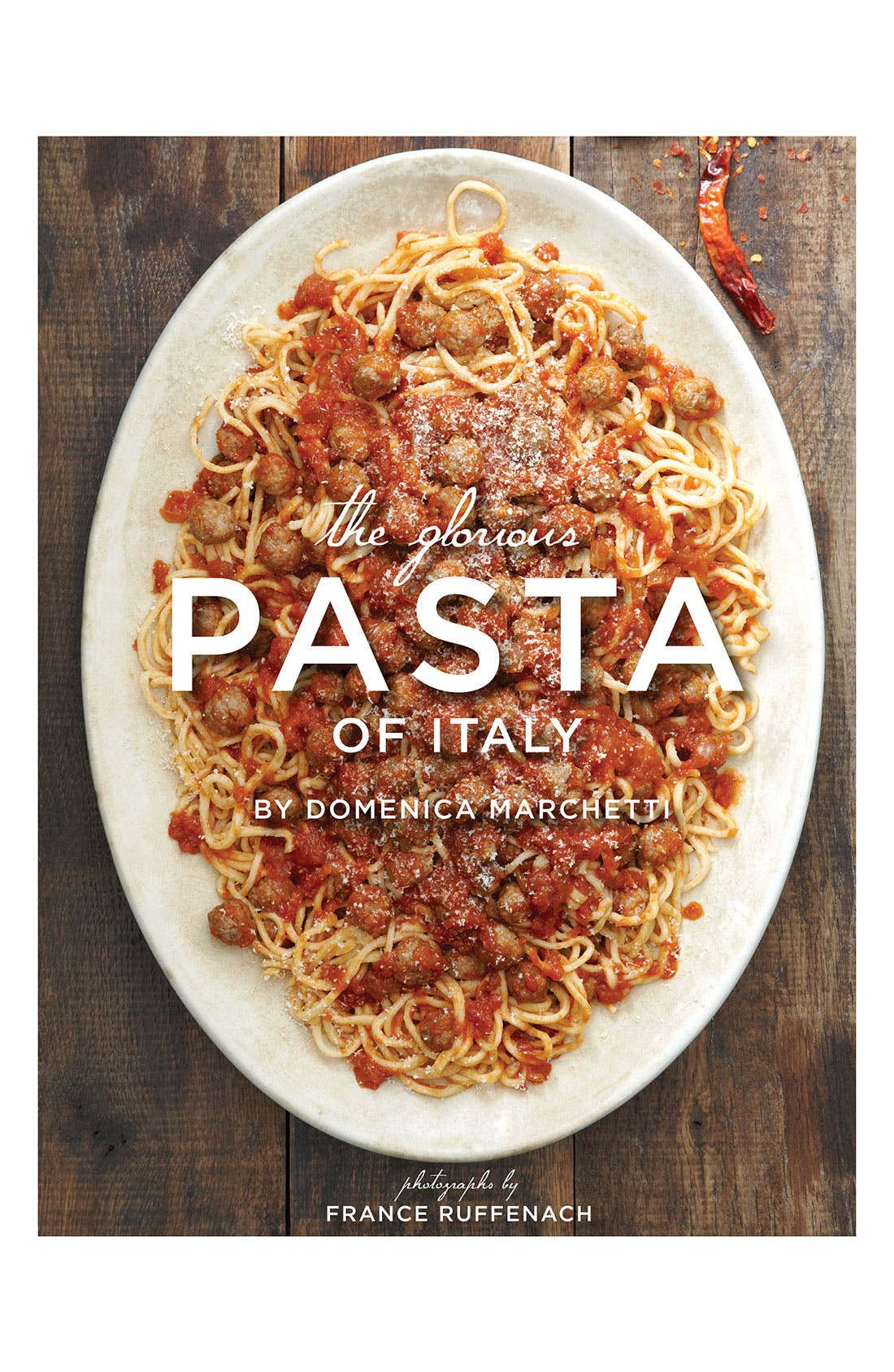 Alternate Image 1 Selected - 'The Glorious Pasta of Italy' Cookbook