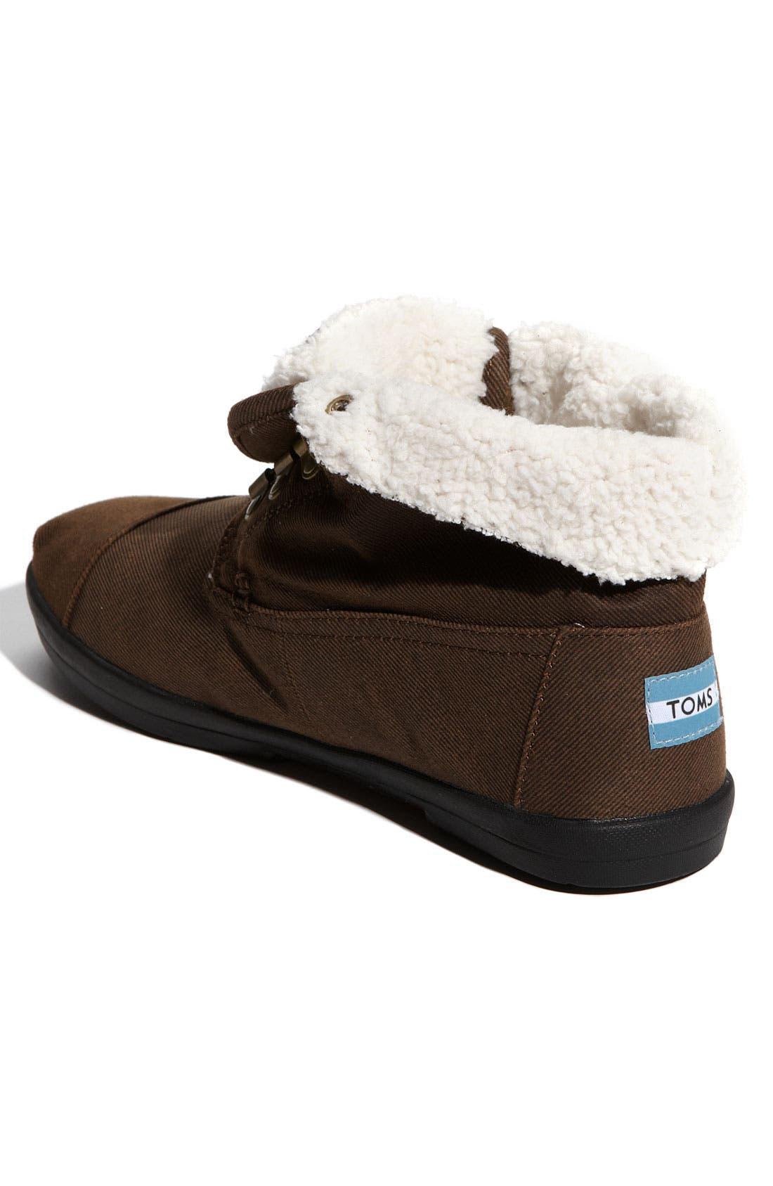 Alternate Image 2  - TOMS 'Highlands' Fleece Boot (Men)