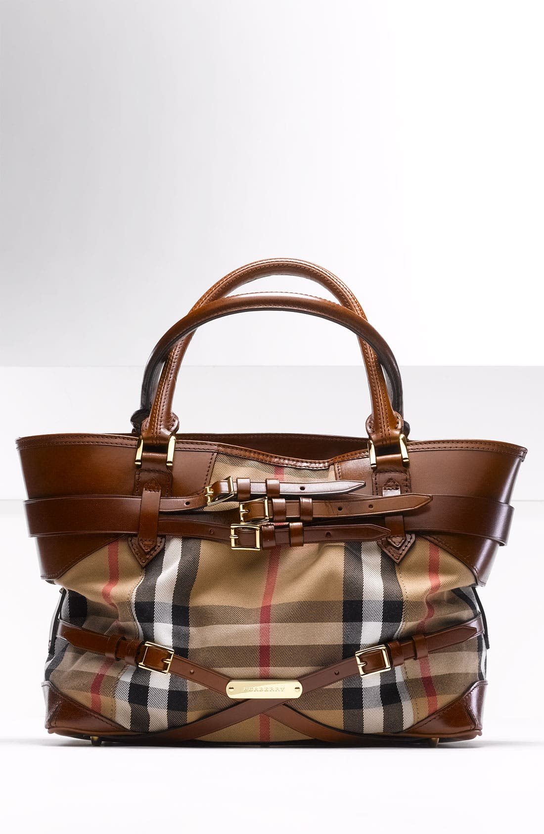 Alternate Image 5  - Burberry 'House Check' Tote, Large