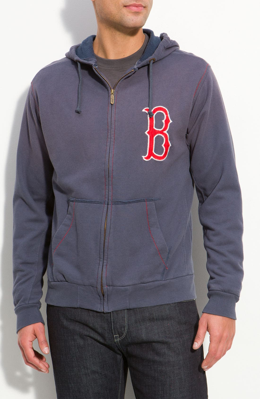 Alternate Image 1 Selected - Red Jacket 'Red Sox' Hoodie