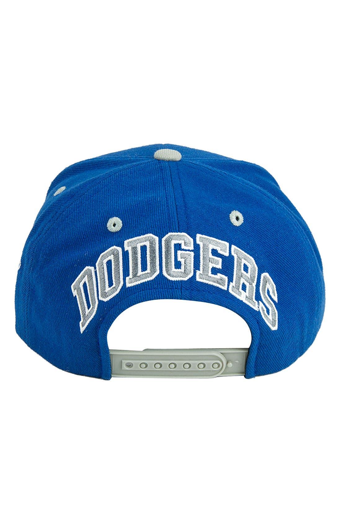 Alternate Image 2  - Red Jacket 'Blockhead Dodgers' Snapback Baseball Cap
