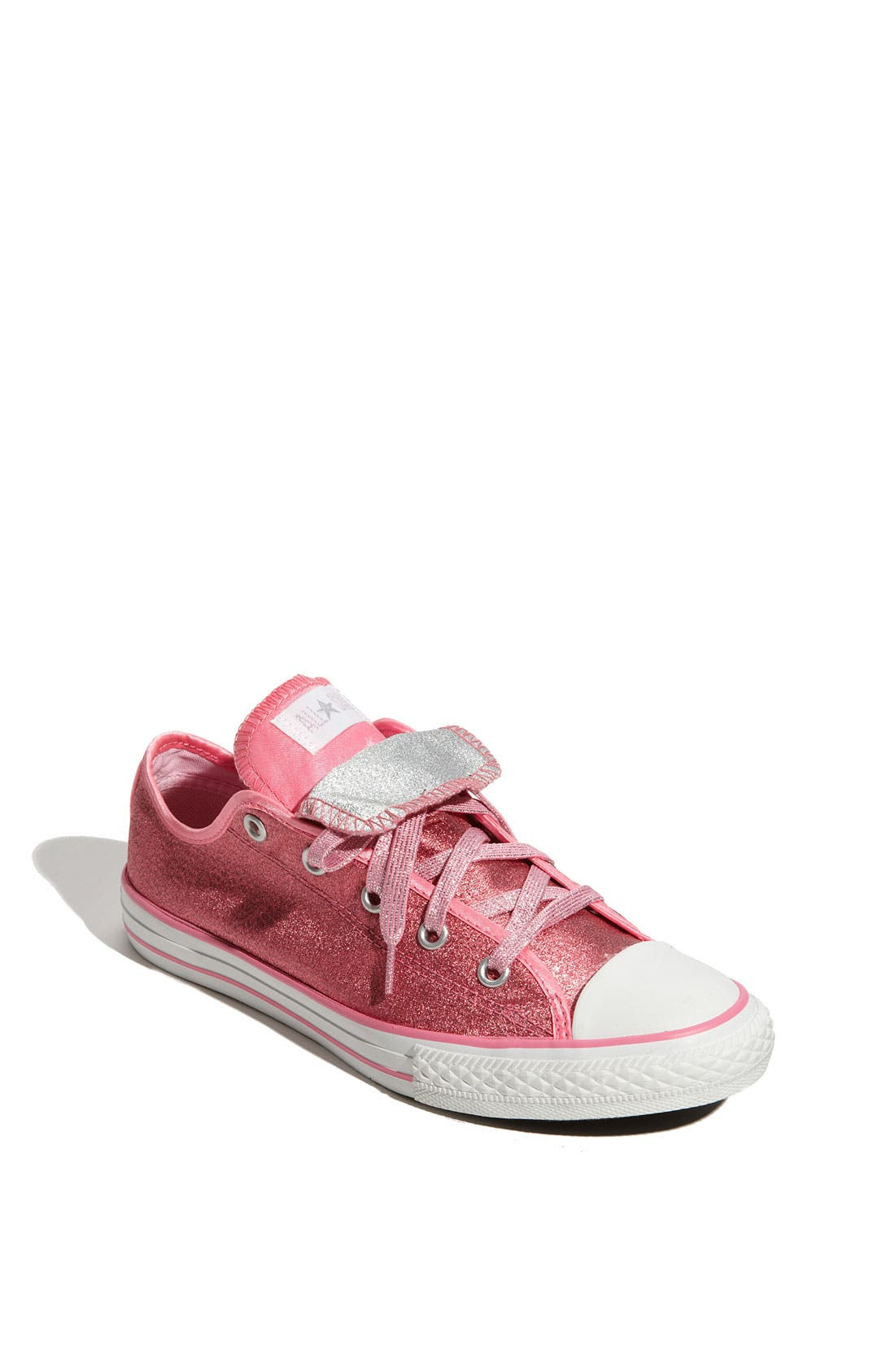 Alternate Image 1 Selected - Converse Double Tongue Sneaker (Toddler, Little Kid & Big Kid)