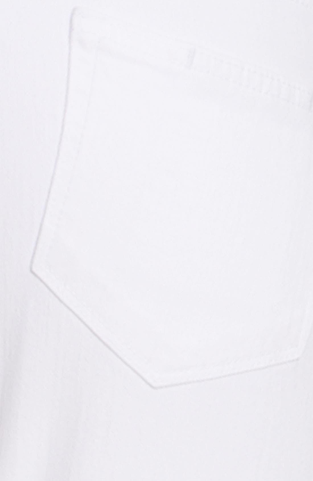 Alternate Image 3  - Paige Denim 'Kylie' Crop Skinny Jeans (Optic White Wash)