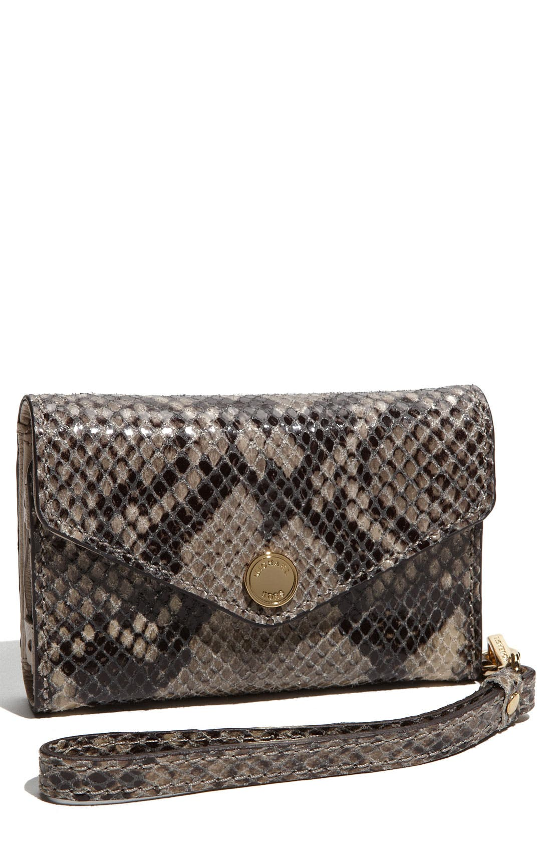 Alternate Image 1 Selected - MICHAEL Michael Kors 'Jet Set' iPhone Wristlet