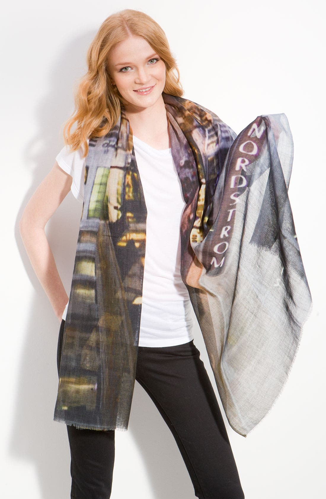Alternate Image 1 Selected - Shawlux 'Captured Moments - Nordstrom' Scarf