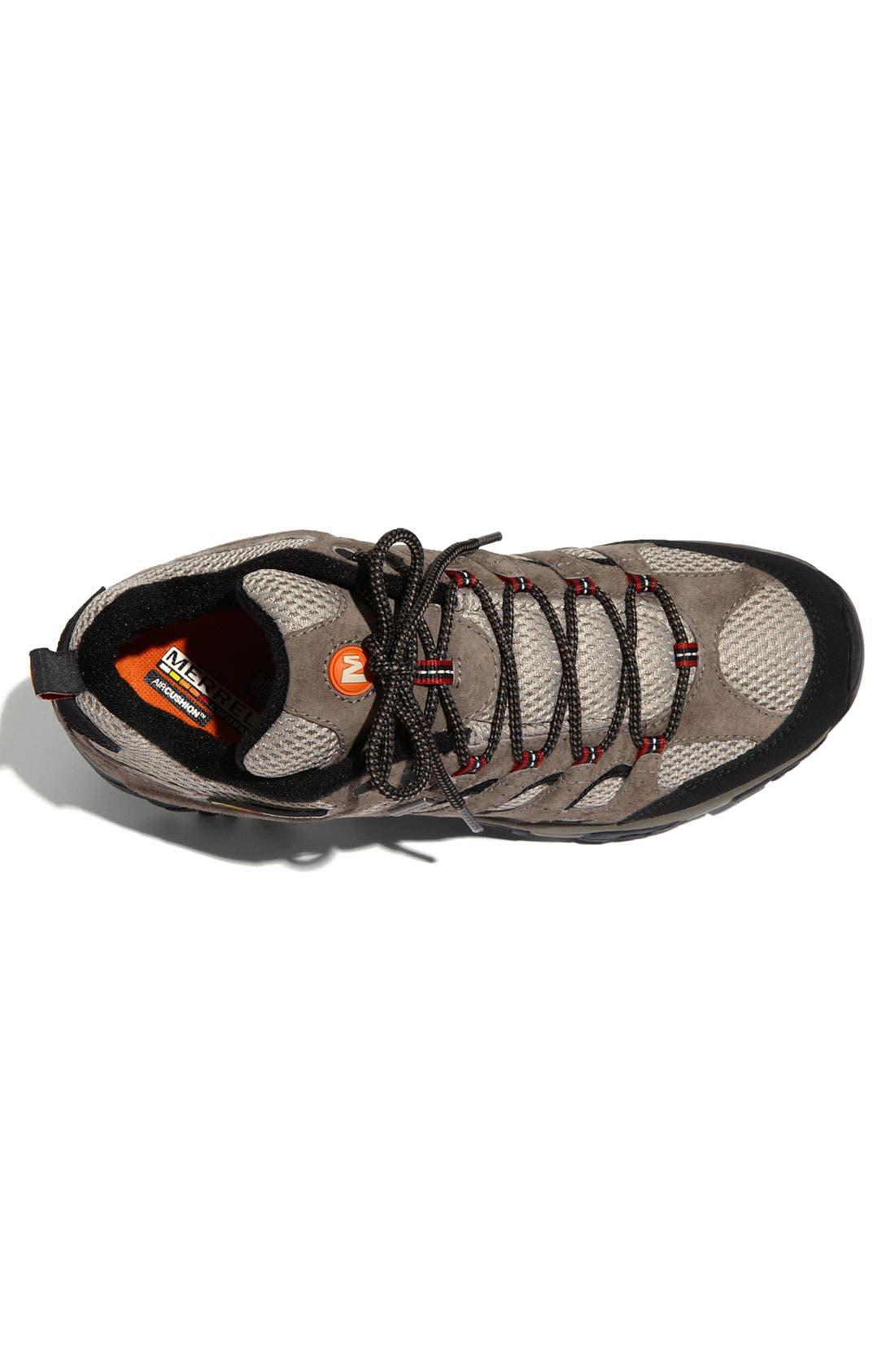 Alternate Image 3  - Merrell 'Moab' Waterproof Hiking Shoe (Men)