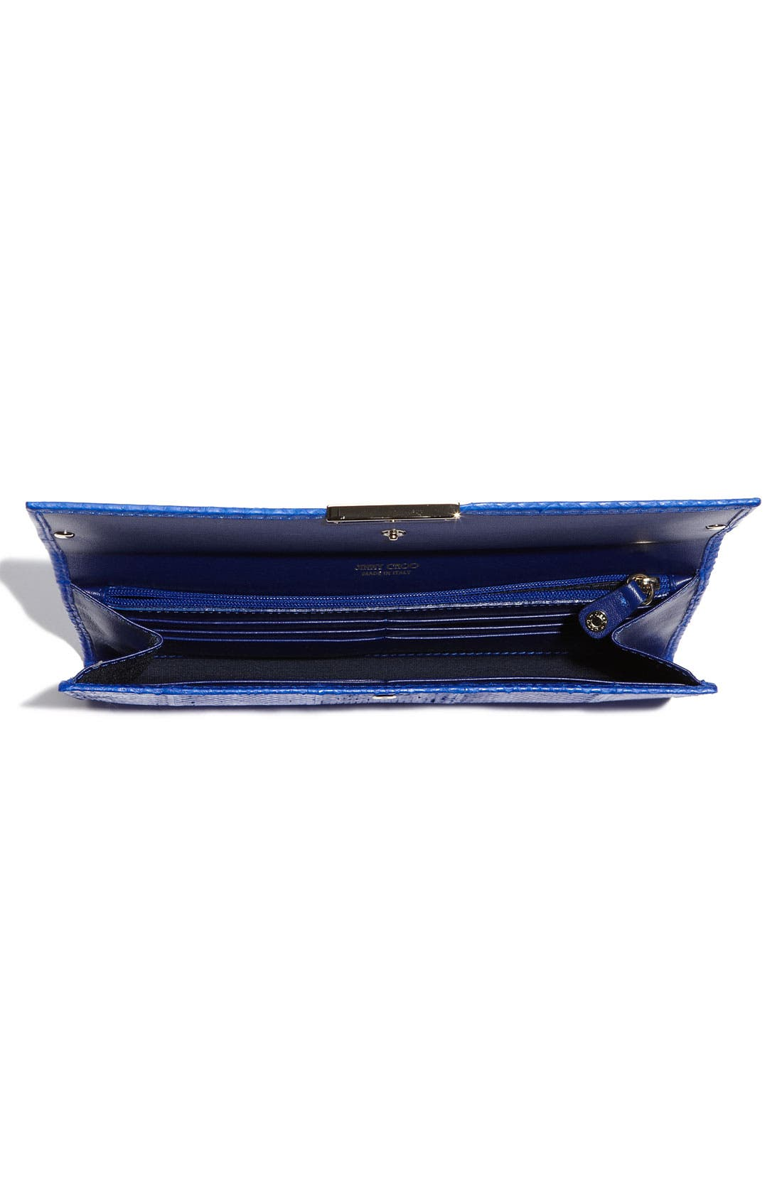 Alternate Image 3  - Jimmy Choo 'Reese' Embossed Leather Clutch