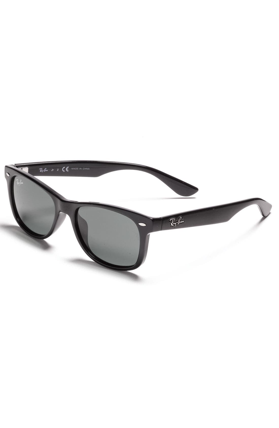 Main Image - Ray-Ban Wayfarer 47mm Sunglasses (Big Boys)