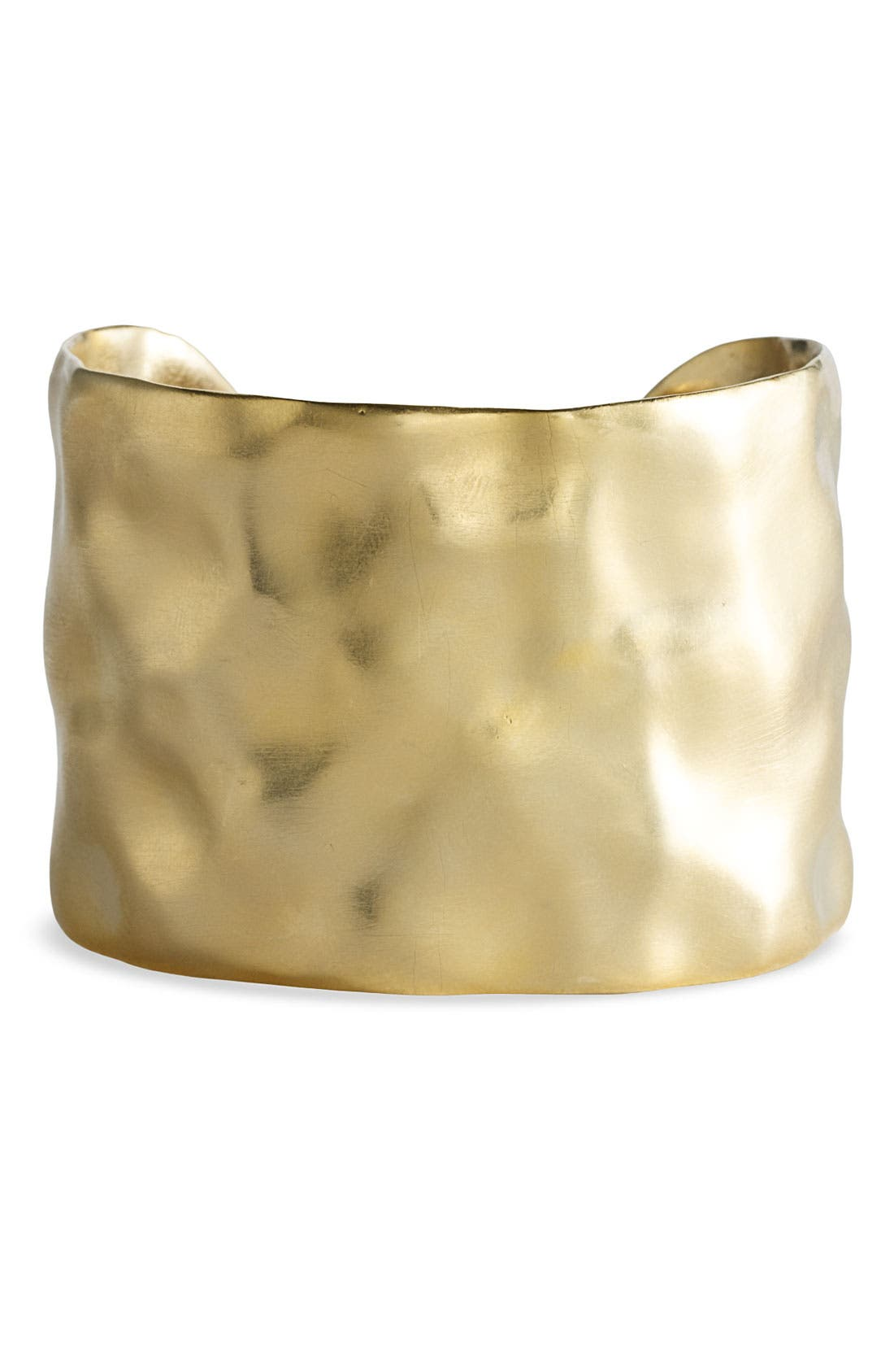 Alternate Image 1 Selected - Nordstrom 'Gold Water' Textured Cuff