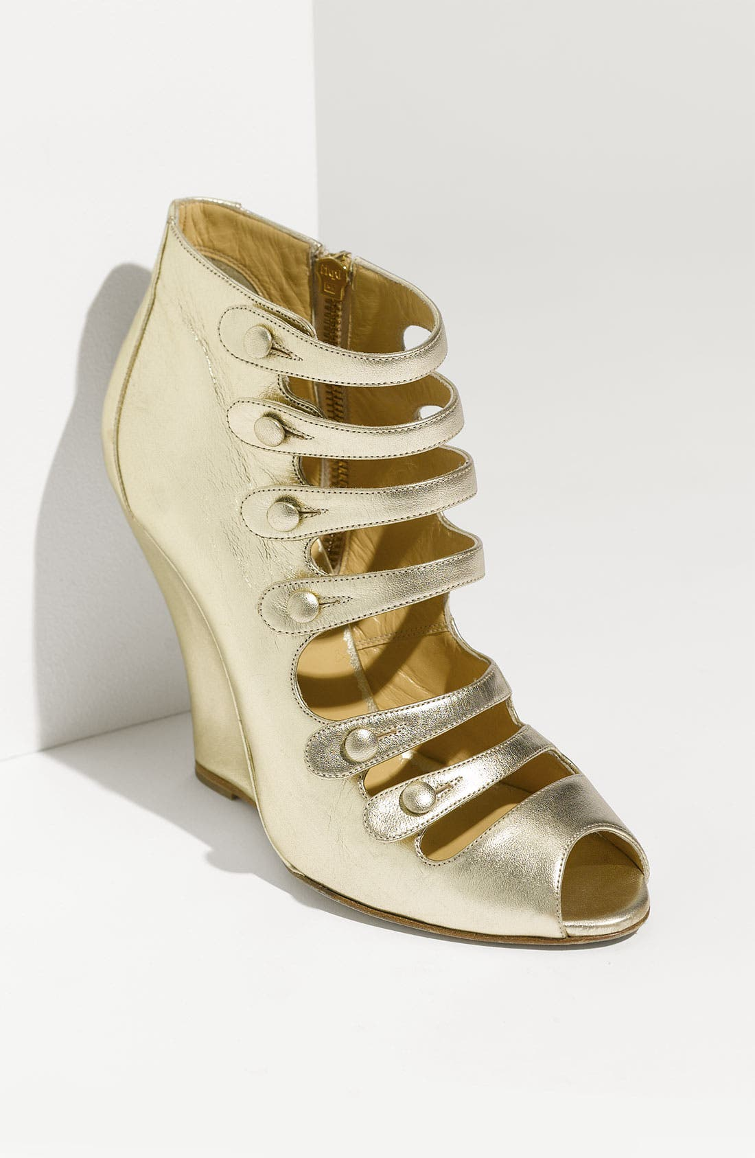 Alternate Image 1 Selected - Oscar de la Renta 'Dakota' Wedge Bootie