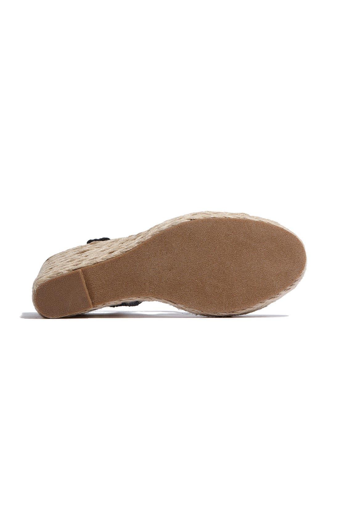 Alternate Image 4  - Steve Madden 'Manngo' Woven Sandal