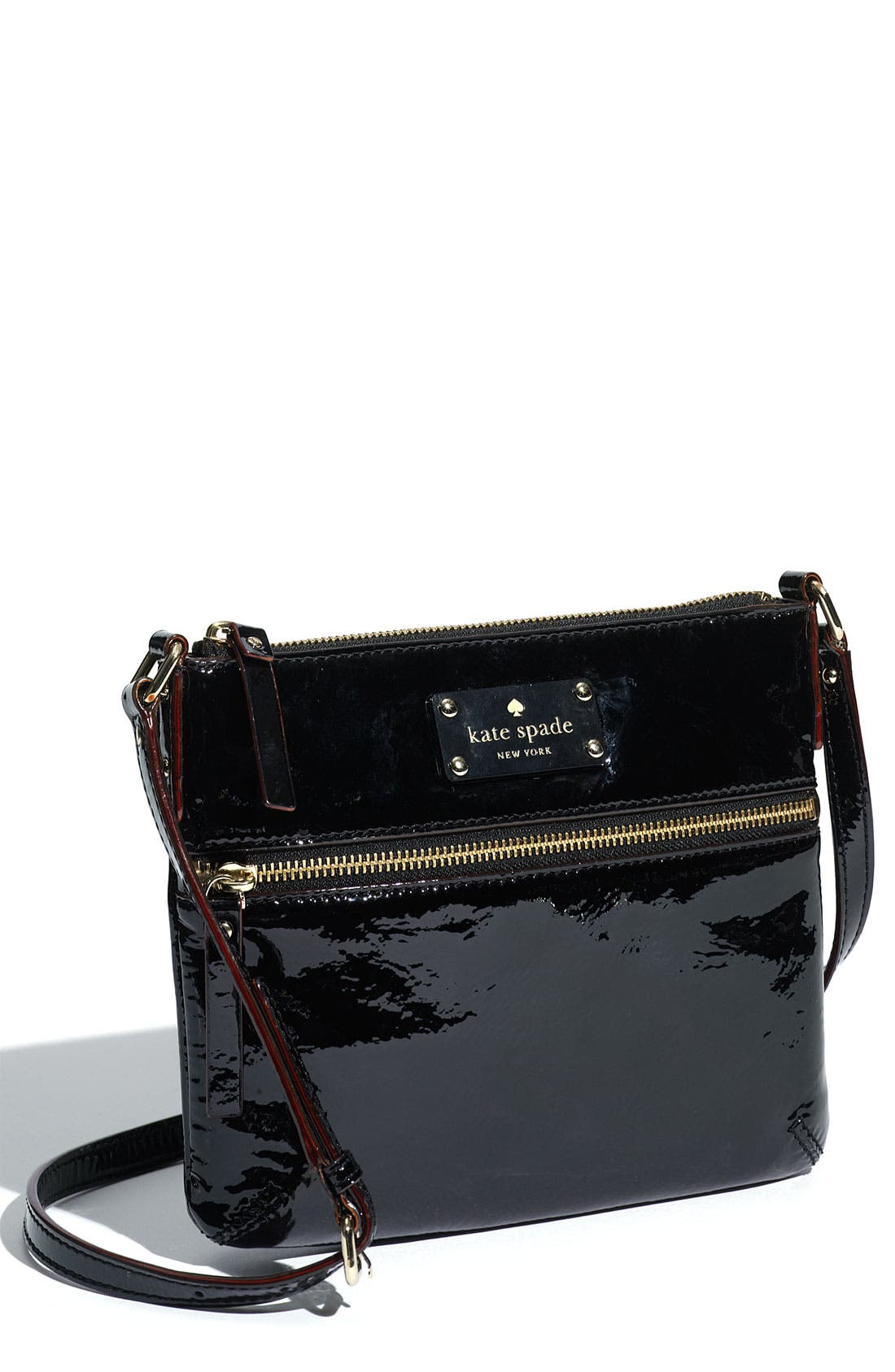 Alternate Image 1 Selected - kate spade new york 'flicker -  tenley' patent crossbody bag