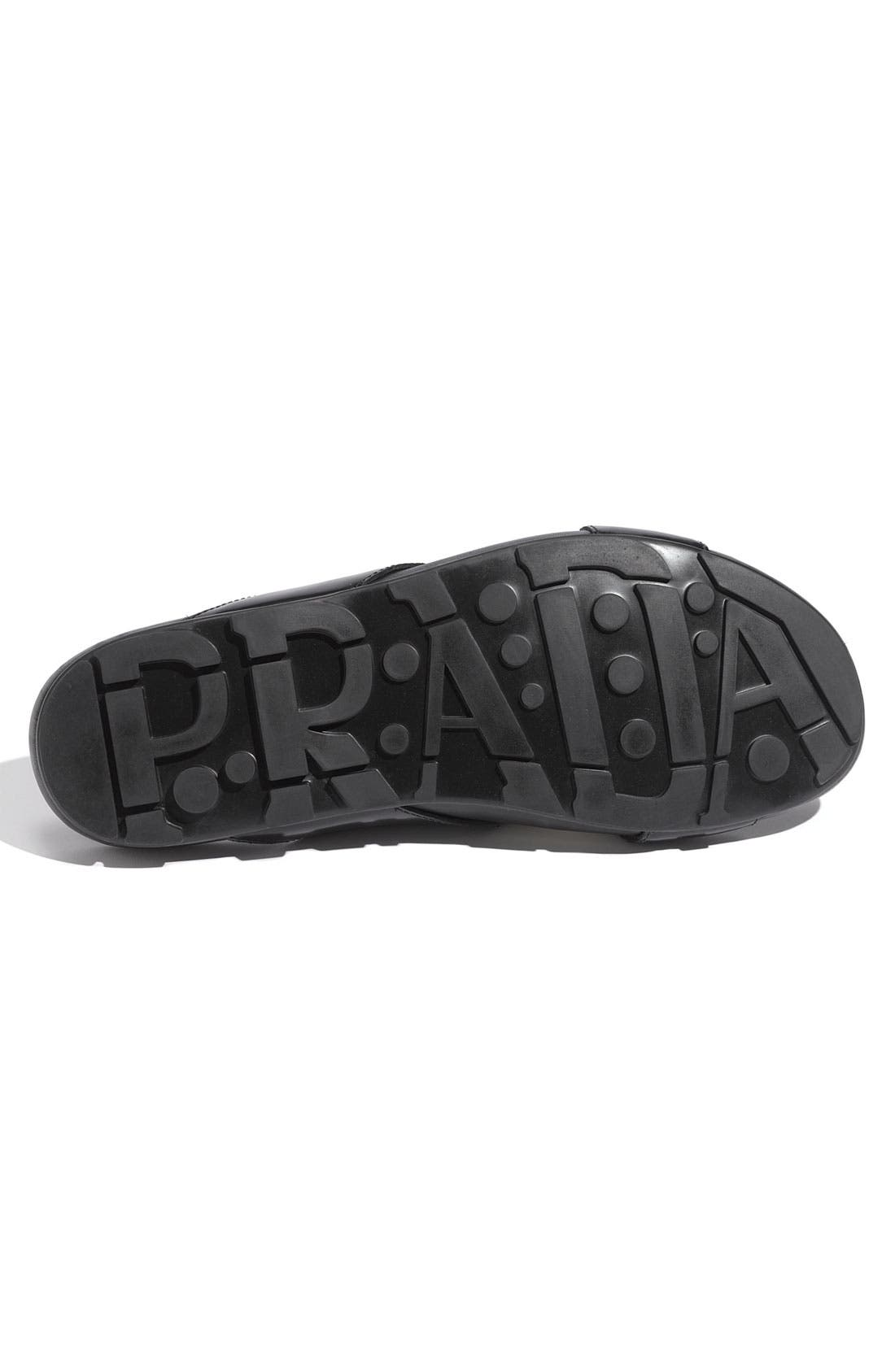 Alternate Image 4  - Prada Cross Strap Nylon Slide