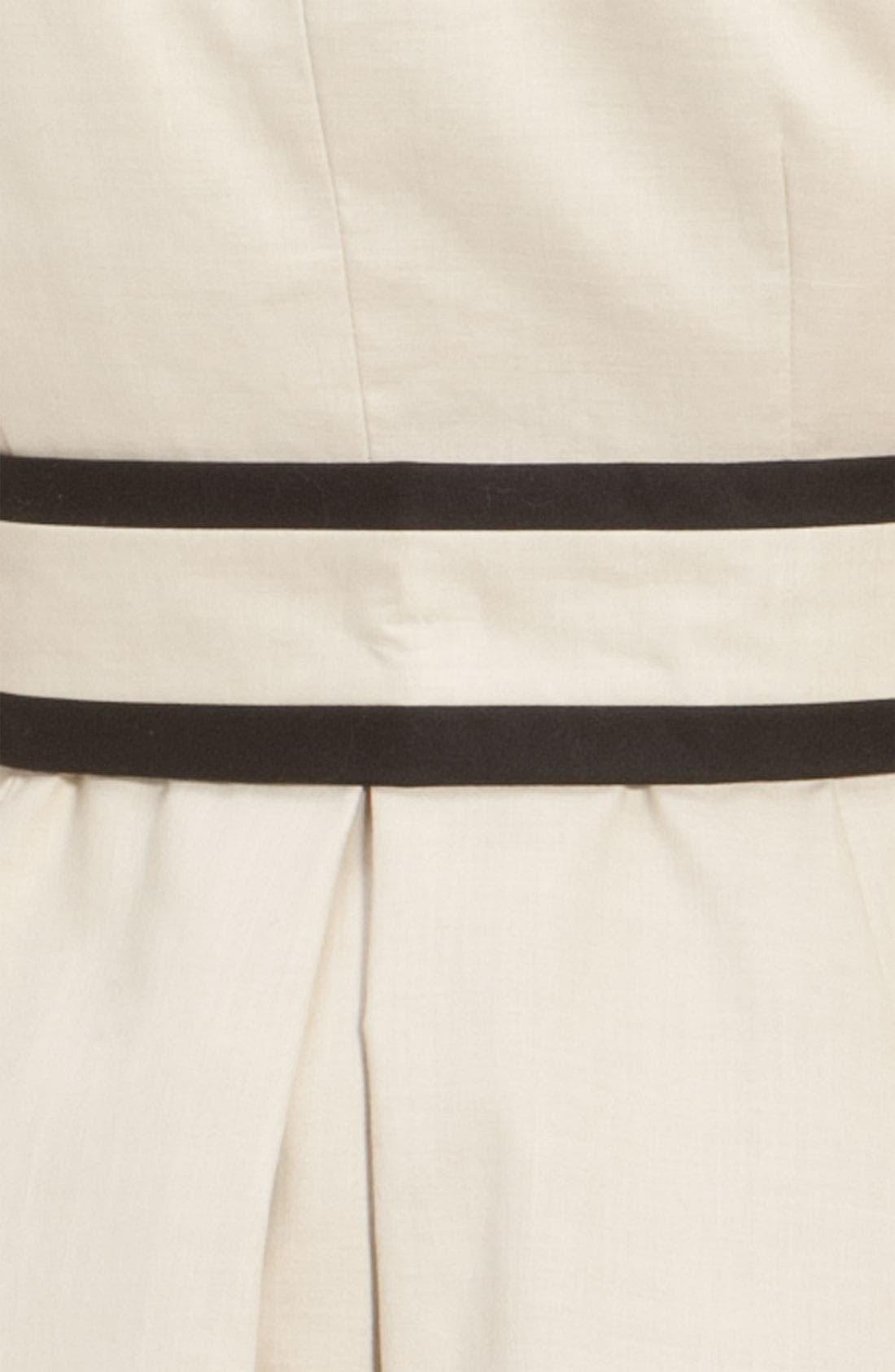 Alternate Image 5  - kate spade new york 'topliner' contrast trim trench coat