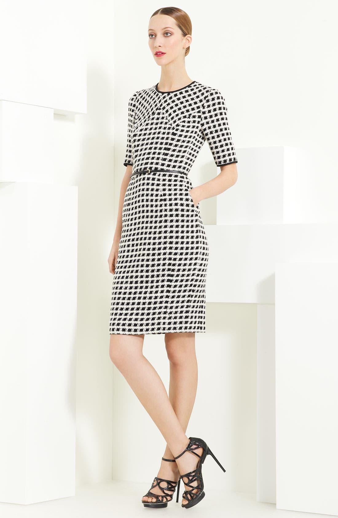 Main Image - Jason Wu Belted Tweed Dress
