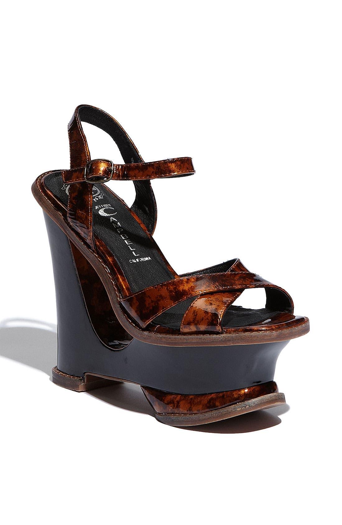 Alternate Image 1 Selected - Jeffrey Campbell 'Hare 2 Mod' Platform Sandal
