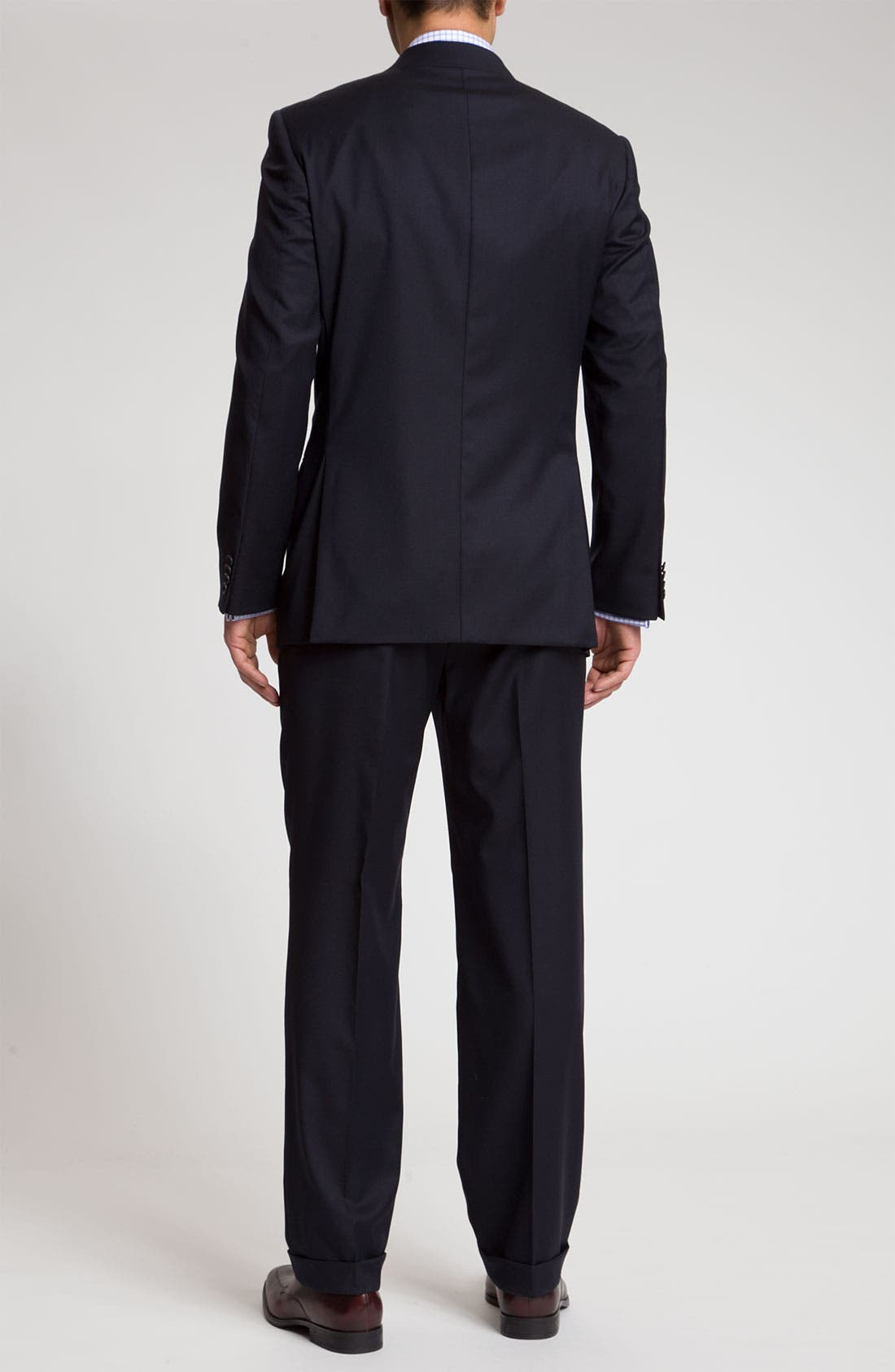 Alternate Image 3  - Joseph Abboud 'Signature Silver' Navy Wool Suit