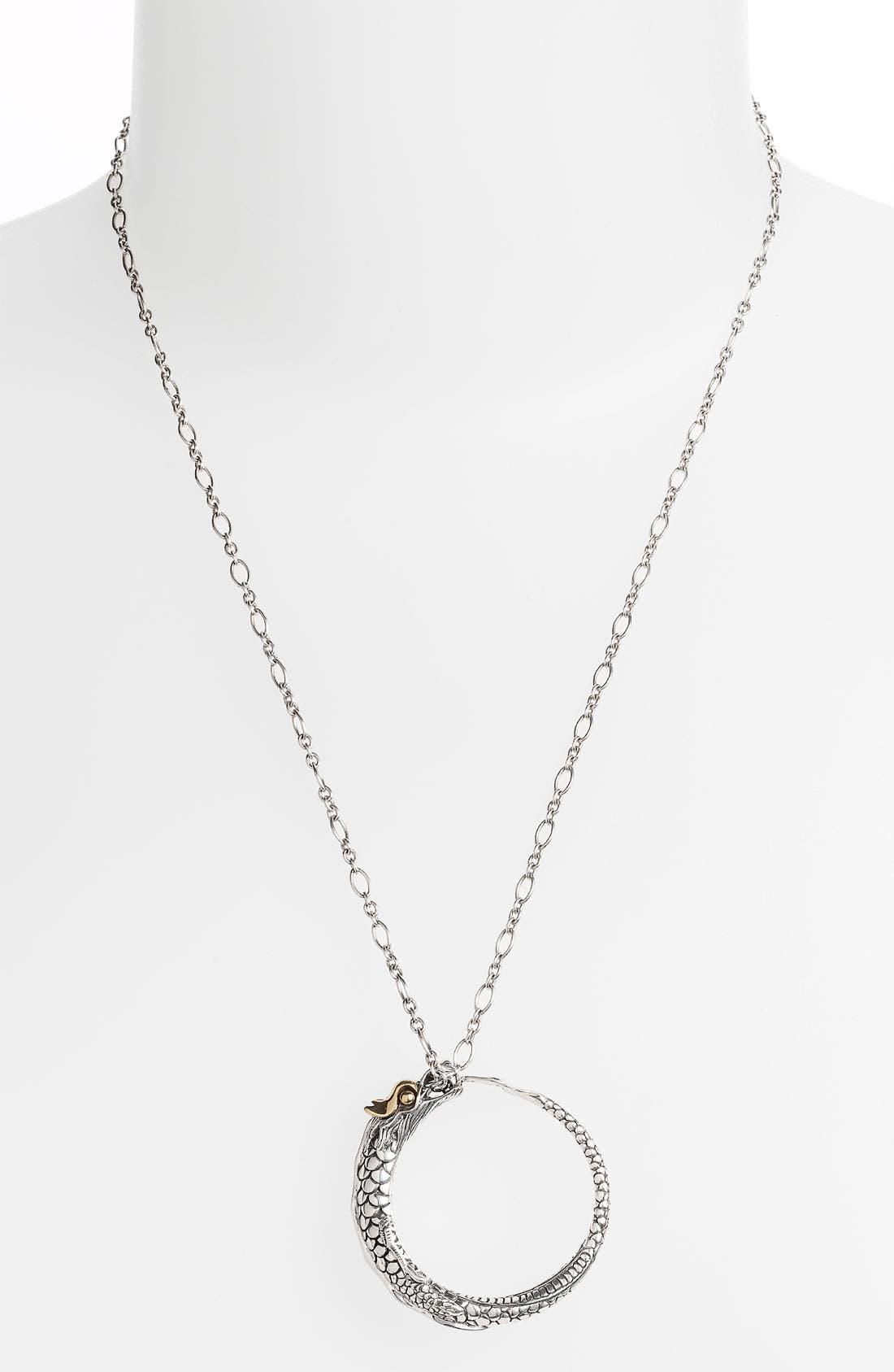 Alternate Image 1 Selected - John Hardy 'Naga' Pendant Necklace