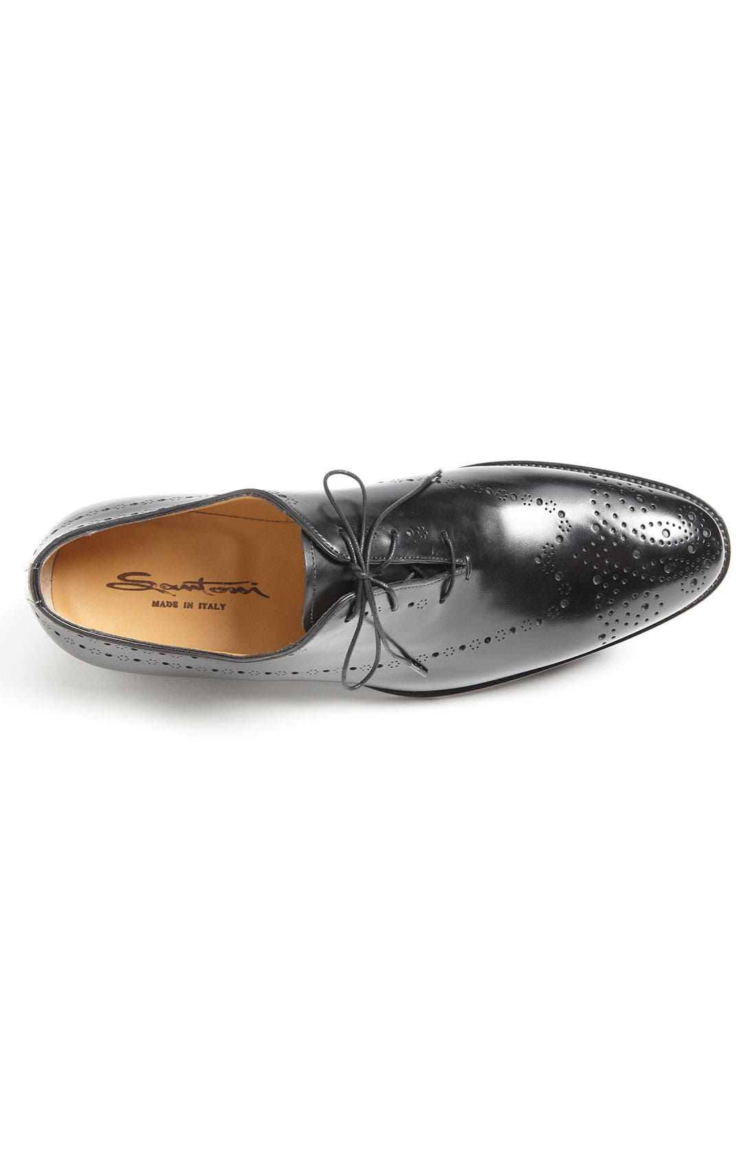 Alternate Image 3  - Santoni 'Rayburn' Lace-Up Oxford